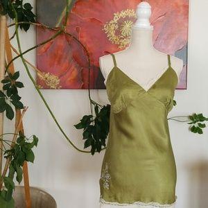 Silk Tunic Cami